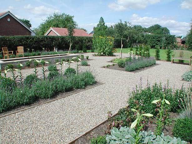 family back garden
