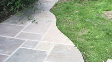 Curved Patios & Patios u2013 Less is More | Yorkshire Garden Designer